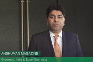 Anshuman Magazine, Chairman, CBRE India and Southeast Asia, discusses India's real estate space