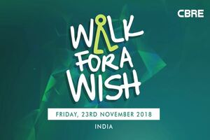 CBRE India Walk For A Wish - 2018
